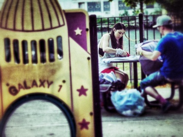 Public Park Seamstress