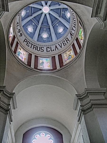 Inside Cupola of San Pedro Claver Church