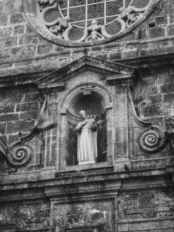 Facade detail San Pedro Claver Church