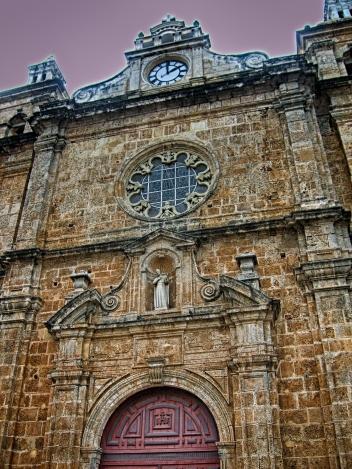 Facade San Pedro Claver Church