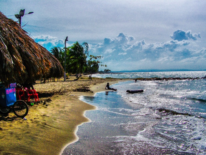 Puerto Viejo beach in Tolu, Colombia