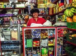 Esther - Shop owner in upper La Candelaria