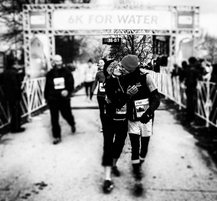 couple at the finish line (1 of 1)