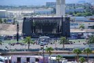 Route 91 Harvest Festival Stage as seen from Tropicana Hotel